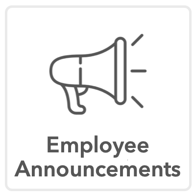 employee announcement icon