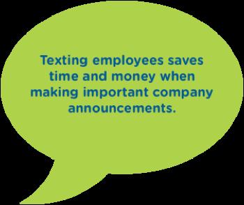moblico team texting speech bubble