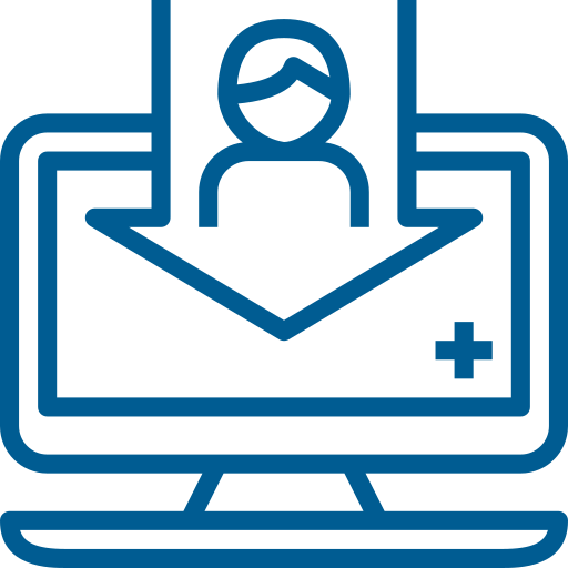 user register authorization icon